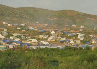 8 Tent City